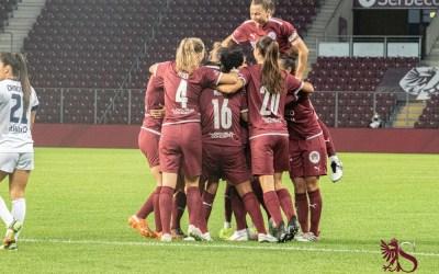 Glasgow City – Servette FCCF 1-2 : SENSATIONNEL !