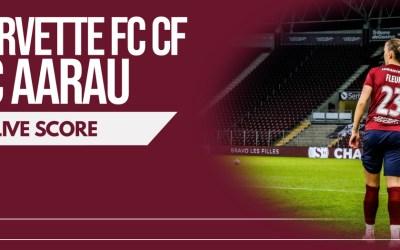 Servette FCCF – FC Aarau Frauen | Le livescore