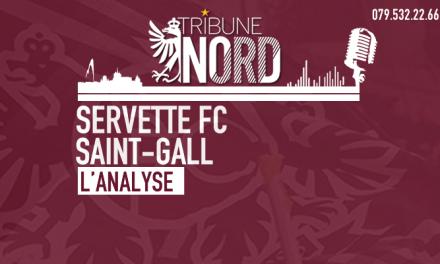 Servette – Saint-Gall | L'analyse du match