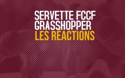 Servette FCCF – Grasshopper 0-2 | Les réactions