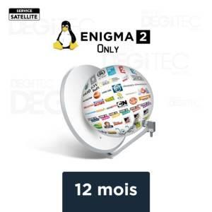Enigma2 12 Mois IPTV + VOD