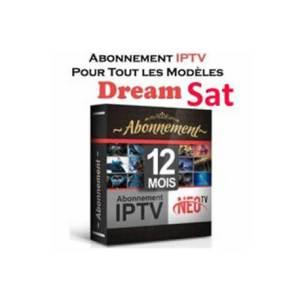 Abonnement IPTV DreamSat (12 Mois)