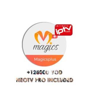 MAGICS PLUS VOD & IPTV Neo Tv PRO 2