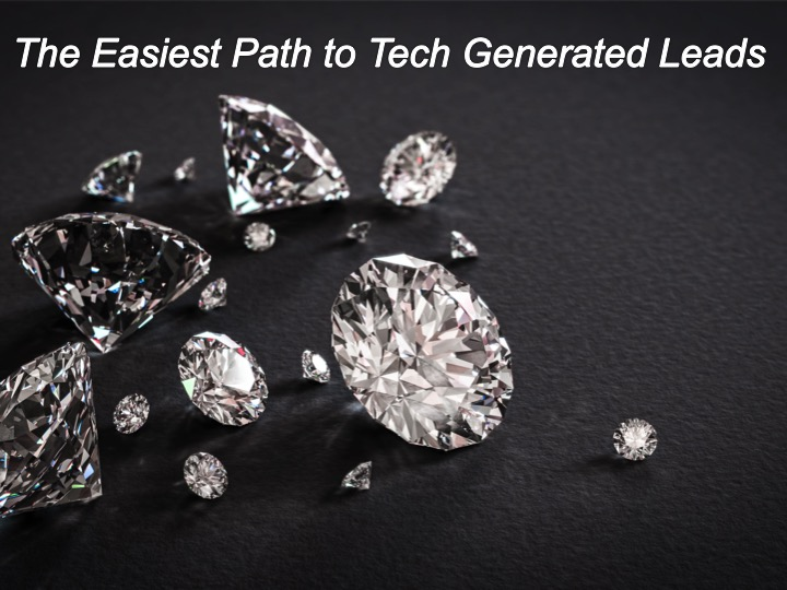 The easiest path to tech generated leads