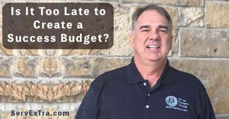 Success Budget - Kerry Webb