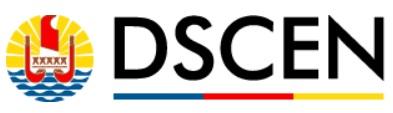 Logo de la Délégation polynésienne pour le Suivi des Conséquences des Essais Nucléaires