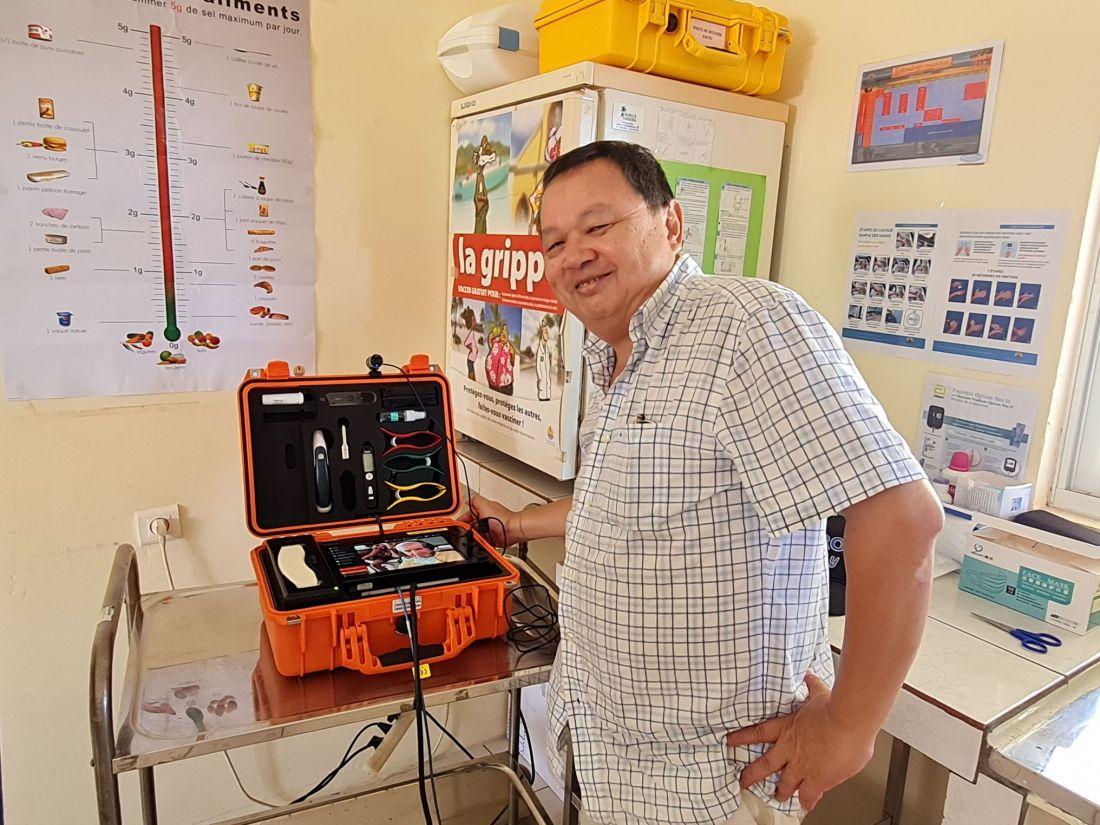 Mission d'évaluation du fonctionnement de la valise de Télémédecine à KATIU
