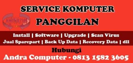 Service Komputer Panggilan di Rawamangun