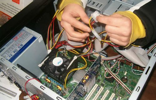 Service Komputer panggilan di Binus