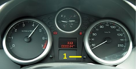 Peugeot 207 Service Light Reset Tutorial How To