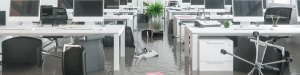 Modern Commercial Office Flooded