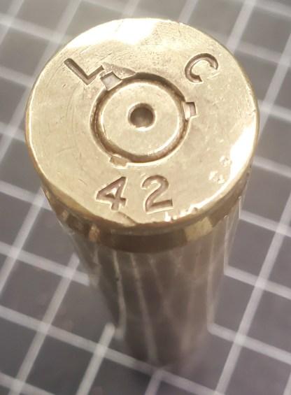 LC 1942 Brass 50 Cal Casing
