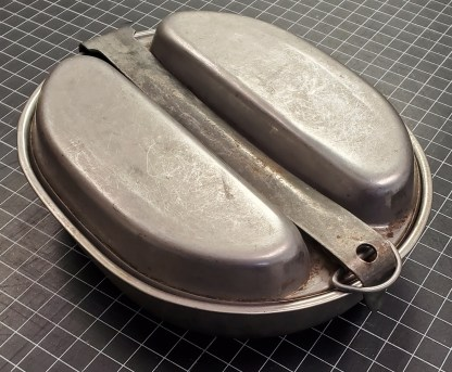 M. A. Co., 1945 Dated WWII US Mess Pan