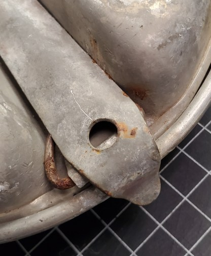 1945 Dated Mess Pan, M.A. Co.