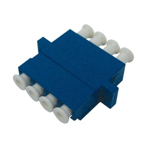 Adaptor LC/PC Quad Singlemode |LC/PC quad Adaptor | lcpc quad adaptor | lcpc quad coupler | lc/pc quad coupler | lc/pc adaptor | lcpc adaptor | lc quad adaptor | lc quad coupler