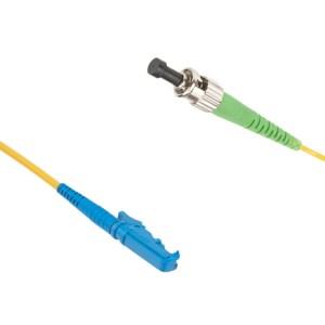E2000-ST/APC Singlemode 9/125 simplex patchcord | ST/APC singlemode patchcord | ST/APC singlemode patch cord | ST/APC patch cord | ST/APC patchcord | E2000 singlemode patchcord | E2000 singlemode patch cord | E2000 patch cord |E2000 patchcord | ST/APC-E2000 singlemode patchcord |ST/APC- E2000 singlemode patch cord | ST/APC-E2000 patch cord | ST/APC-E2000 patchcord