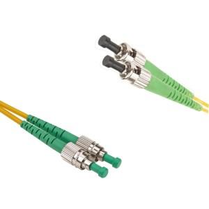 FC/APC-ST/APC Singlemode 9/125 duplex patchcord | FC/APC singlemode patchcord | FC/APC singlemode patch cord | FC/APC patch cord | FC/APC patchcord | ST/APC singlemode patchcord | ST/APC singlemode patch cord | ST/APC patch cord |ST/APC patchcord | FC/APC-ST/APC singlemode patchcord |FC/APC- ST/APC singlemode patch cord | FC/APC-ST/APC patch cord | FC/APC-ST/APC patchcord