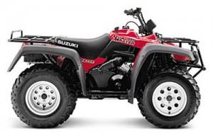 Suzuki QuadMaster 500 LTA500F LTA500F Manual