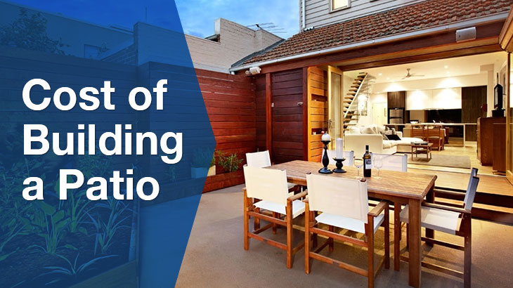 cost of building a patio