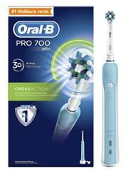 Oral-B Pro 700 Crossaction Brosse à Dents Electrique Rechargeable