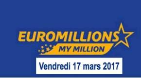 🔥Résultat Euromillions et My Millions (FDJ) du vendredi 17 mars 2017