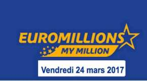 🔥Résultat Euromillions et My Million (FDJ) du Vendredi 24 Mars 2017