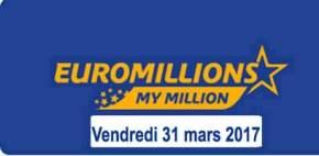 Euromillions 31 Mars 2017