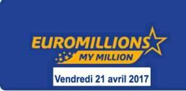 resultat euromillions 21 avril 2017