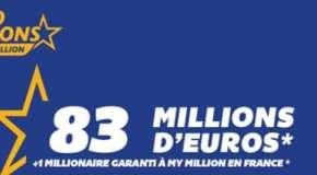 Euromillions : c'est un français qui a remporté 83,4 millions d'euros !