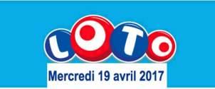 resultat loto 19 avril 2017