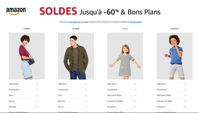 Soldes Amazon 2017