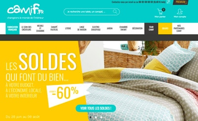 Code promo Camif soldes