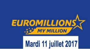 Résultat Euromillions et My million (FDJ) tirage du Mardi 11 juillet 2017