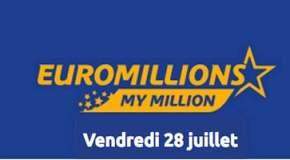 Résultat Euromillions et My Million (FDJ) du vendredi 28 juillet 2017