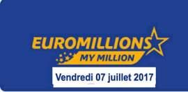 résultat euromillions 7 juillet 2017