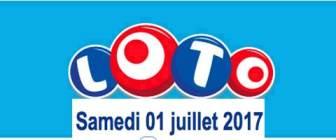 résultat loto 1 juillet 2017