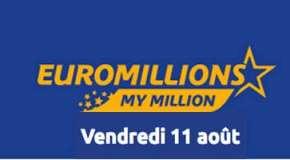 Résultat Euromillions et My Million (FDJ) tirage du vendredi 11 Août 2017