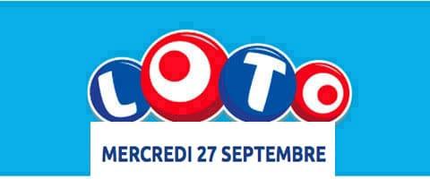 résultat loto 27 septembre 2017