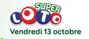 Résultat super loto du vendredi 13 octobre 2017