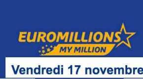 Résultat Euromillions et My Million (FDJ) Vendredi 17 Novembre 2017