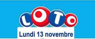 résultat loto lundi 13 novembre 2017