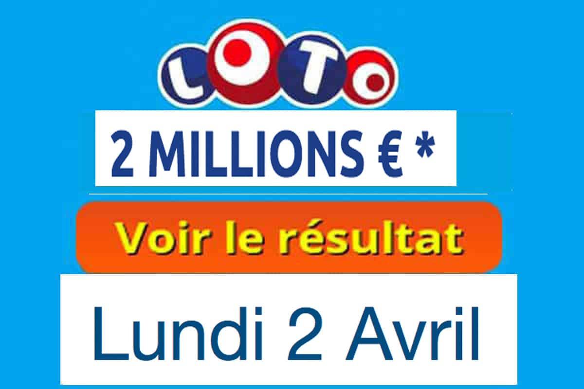 Résultat loto du lundi 2 avril 2018