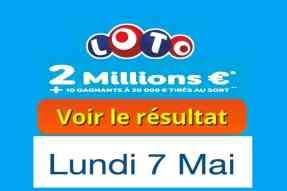 résultat fdj loto 7 mai 2018