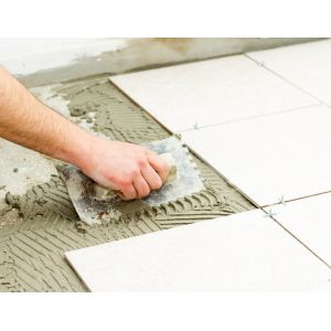 indoor outdoor floor tiling wall tiling installation service inclusive thinset tile adhesive