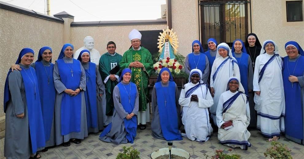 Monasterio en Tayikistán
