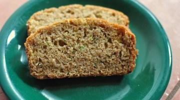 zucchini loaf and muffins