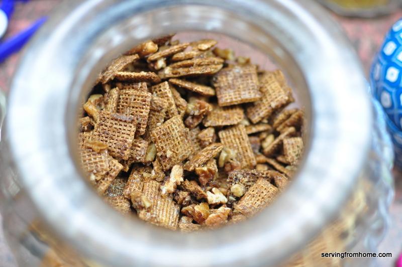 Cinnamon Pecan Shreddie Crunch