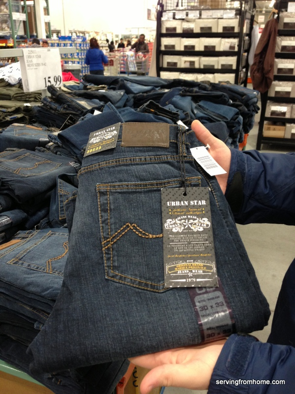 Costco Urban Star jeans