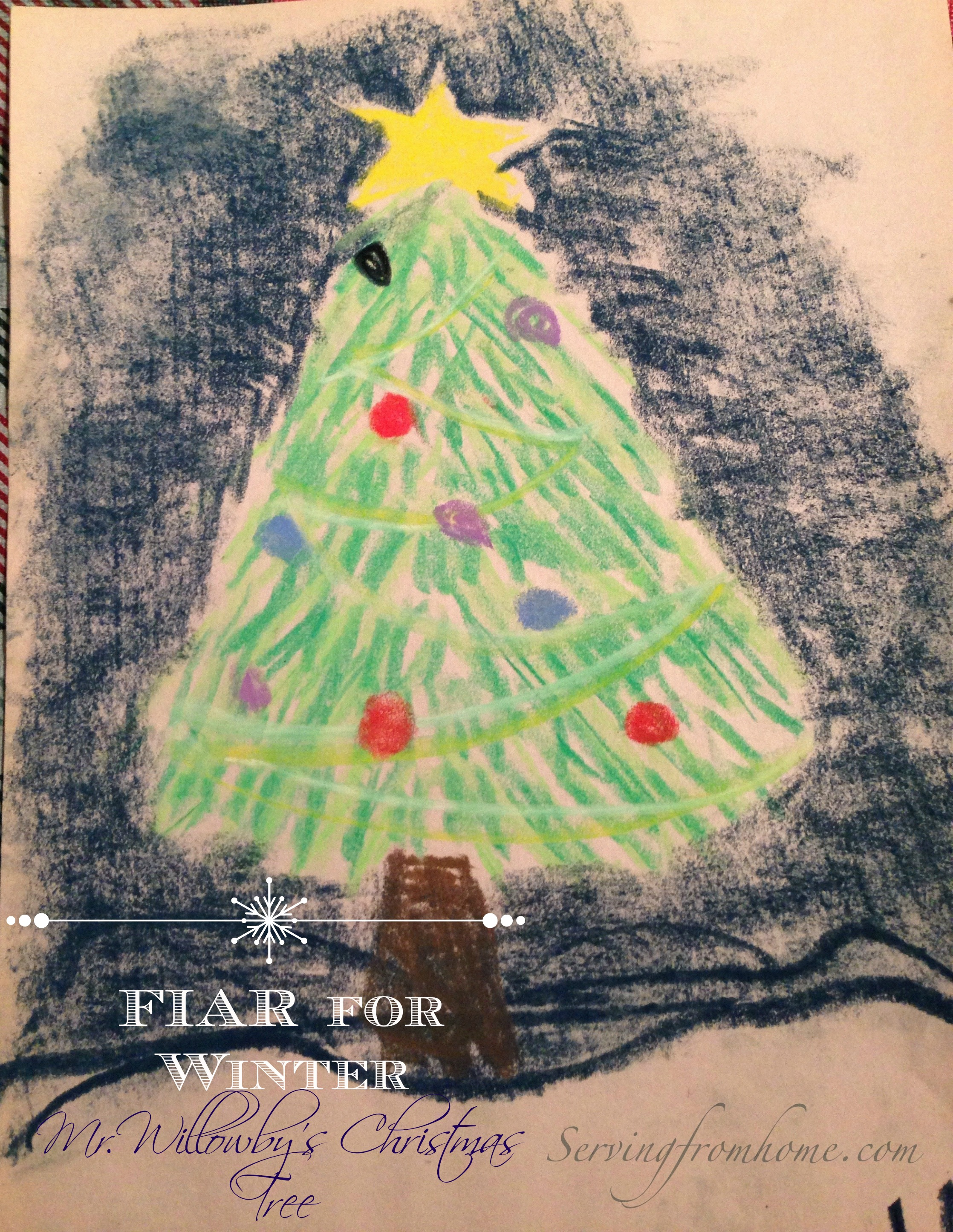 Five in a Row: Mr. Willowby\'s Christmas Tree ~ Serving From Home