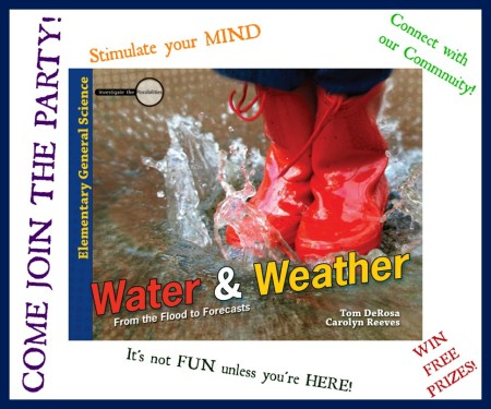 Master Books Water and Weather Facebook Party
